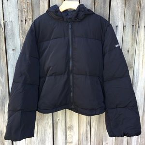NWT Alo Yoga Introspective Quilted Jacket Black L